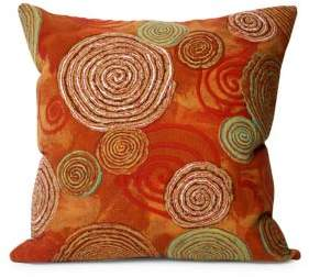 Liora Manné Visions III Graffiti Swirl Indoor and Outdoor Square Pillow