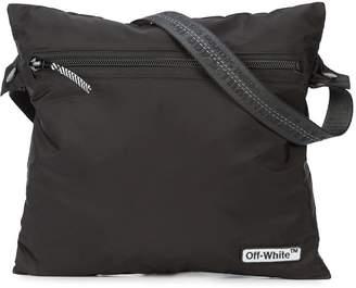 Off-White zipped logo shoulder bag