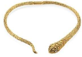 Kenneth Jay Lane Snake Collar Necklace