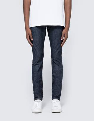 Purple 001 Slim Fit Denim in Raw Indigo