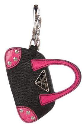 Prada Bauletto bag charm