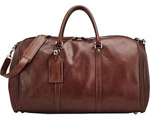 Anthony Logistics For Men T. Men's 48 Hour Duffel/Garment Bag - Brown