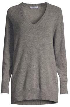 Equipment Aspen Cashmere V-Neck Boyfriend Sweater