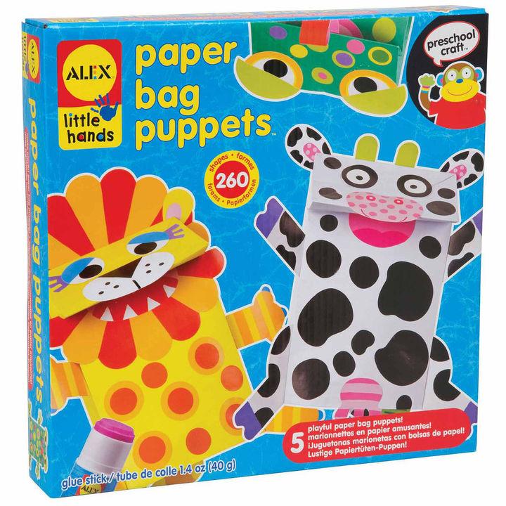 ALEX TOYS ALEX Toys Little Hands Paper Bag Puppets