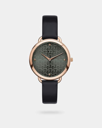 Ted Baker HETTIEY Leather strap watch