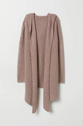 H&M Hooded Cardigan - Brown