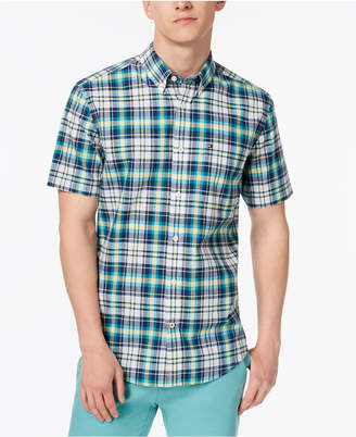 Tommy Hilfiger Men's Madras Plaid Shirt