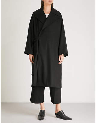 Y's Ys Oversized wool coat