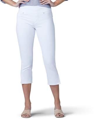 ab7239e98d1 Lee Women's Pull-On Skinny Capri Jeans
