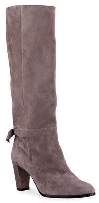 Alexandre Birman Rachel Suede Bow Boots