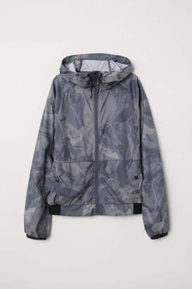 H&M Outdoor Jacket - Gray/patterned - Women