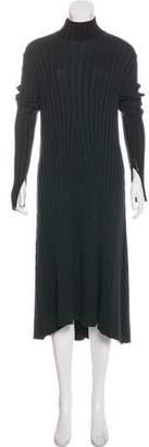 Celine Wool Rib Knit Dress