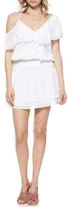 Paige Cecelia Cold Shoulder Minidress