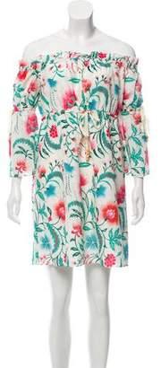 Rachel Zoe Danica Printed Mini Dress w/ Tags