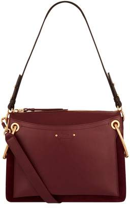 Chloé Medium Leather Roy Shoulder Bag
