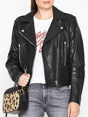 Belstaff Marving Leather Biker Jacket