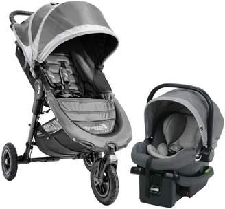 Baby Jogger City Mini Single Stroller & City Go Infant Car Seat Travel System