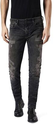 Diesel Sleenker Super Slim Fit Jeans in Denim $298 thestylecure.com
