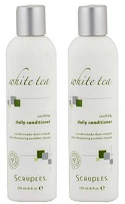 Scruples White Tea Soothing Daily Conditioner 8.5 Ounce (Set of 2) by