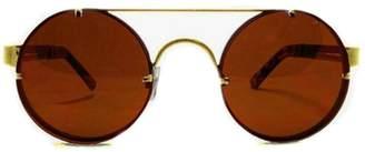 Spitfire Lennon Gold Sunglasses