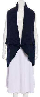 The Row Virgin Wool Draped Cardigan