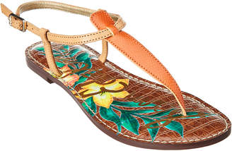 Sam Edelman Gigi Leather Flat Sandal