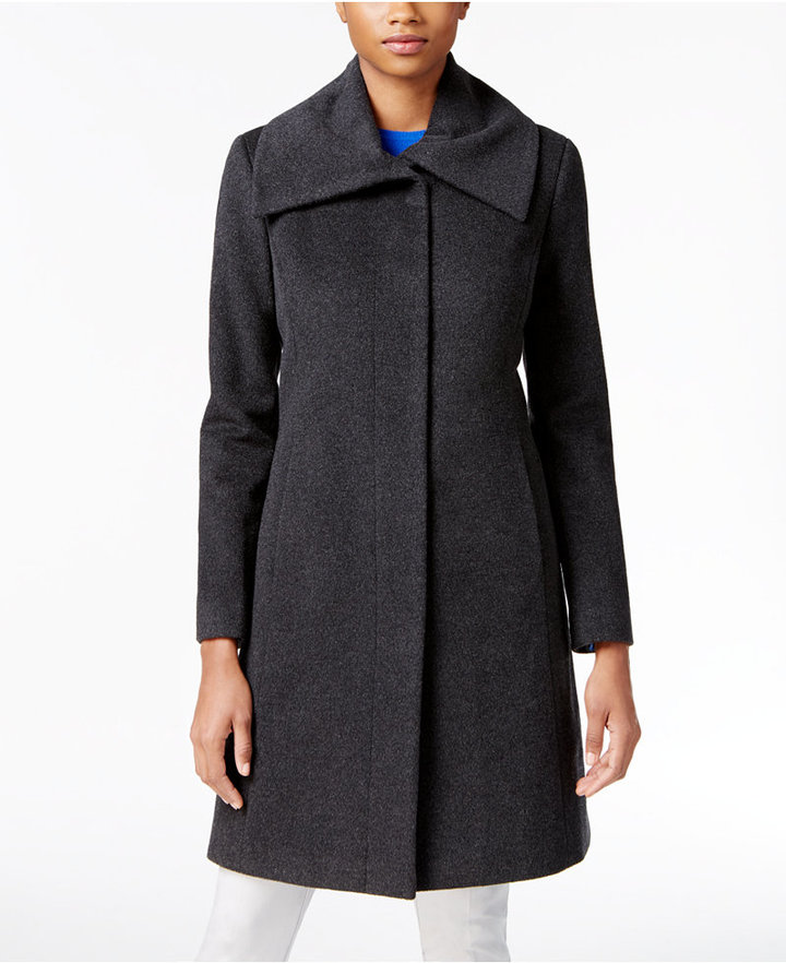 Cole Haan Clean Front Walker Coat Shopstyle Co Uk Women