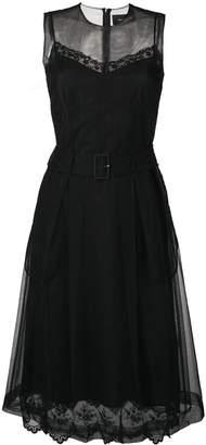 Simone Rocha belted waist tulle dress