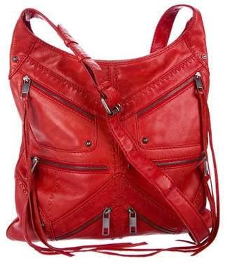 Rebecca Minkoff Leather Zip Shoulder Bag
