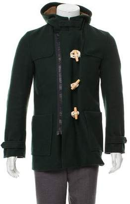 Band Of Outsiders Toggle Wool Coat