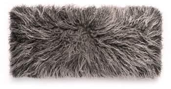 Genuine Mongolian Sheepskin Accent Pillow