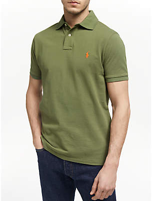 347cd2335b0 Ralph Lauren Polo Short Sleeve Custom Slim Fit Mesh Polo Shirt