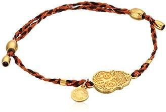 "Alex and Ani Precious Threads"" Calaveras Harvest Moon Braid 14k Bracelet"