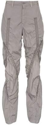 Issey Miyake tape taffeta trousers