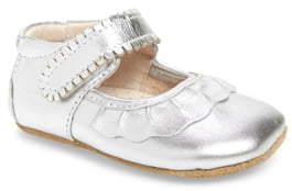 Livie & Luca 'Ruche' Mary Jane Crib Shoe