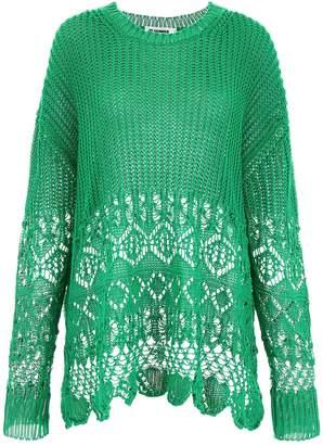 Jil Sander Crochet Pull