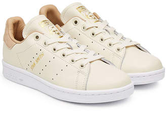 adidas Stan Smith Leather Sneakers with Suede