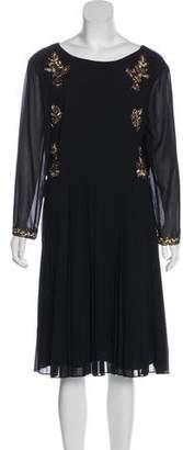 Ted Baker Sequined Knee-Length Dress