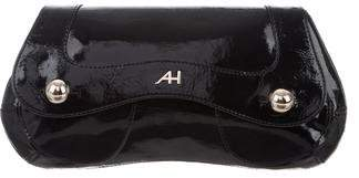 Anya Hindmarch Patent Leather Envelope Clutch