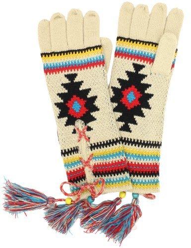 Muk Luks Women's Painted Desert Lace Up Gloves