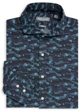 Michael Bastian Printed Dress Shirt