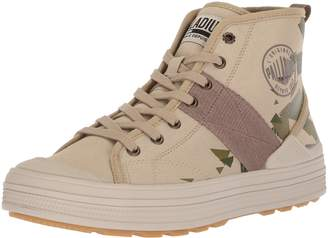 Palladium Men's Sub HI Cvs Camo Ankle Boot
