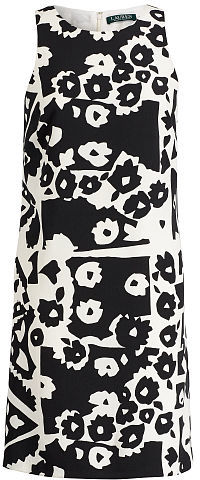 Ralph Lauren Lauren Floral-Print Crepe Dress