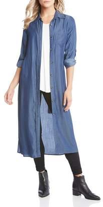Karen Kane Chambray Shirt Dress