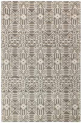 Bashian Rugs Eunice Indoor/Outdoor Hand-Tufted Wool Rug