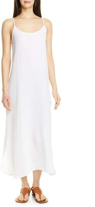 Eileen Fisher Sleeveless Organic Cotton Maxi Dress