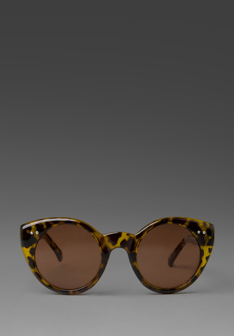 Spitfire Weekend in Tortoise Shell Frame/Brown Lens