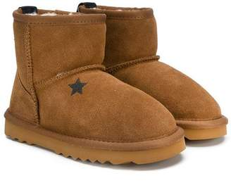 Douuod Kids shearling lined boots