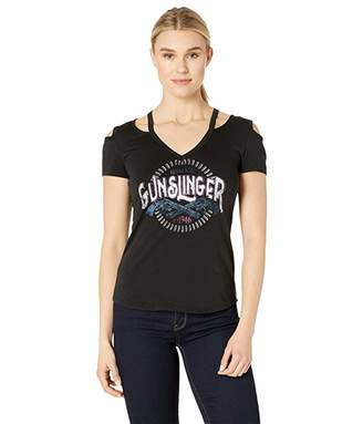 Rock and Roll Cowgirl Short Sleeved T-Shirt 47-1637