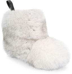 Jimmy Choo Dalton Fox Fur Booties